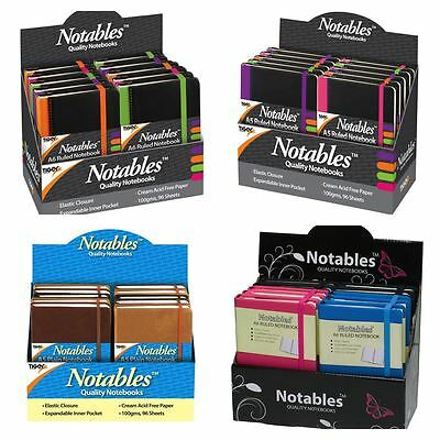 *OFFER* 'Notables' Small Notepad Notebooks with Premium Covers - FULL RANGE!
