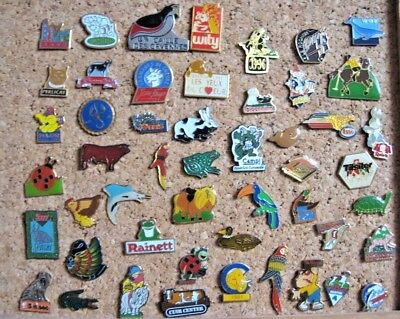 LOT 50 PIN'S DIFFÉRENTS thème : ANIMAL / ANIMAUX NATURE  PINS PIN #53