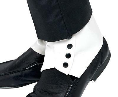 Spats White Adult - One Size