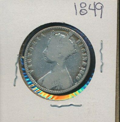 Great Britain  - Silver Florin - Gothic 1849
