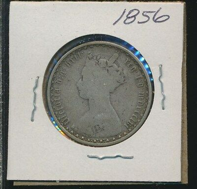 Great Britain  - Silver Florin - Gothic 1856