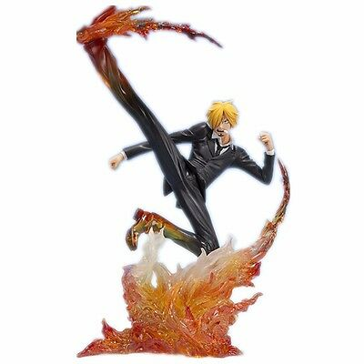 "One Piece Zero Sanji Diable Jambe Premier Hachis 6"" PVC Figure No Retail Box"