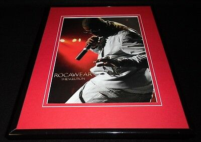 Jay Z 2008 Rocawear Evolution Framed 11x14 ORIGINAL Advertisement