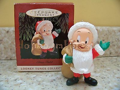 Hallmark 1993 Elmer Fudd Looney Tunes Christmas Ornament