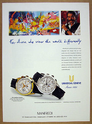 1996 Universal Geneve Complitech Collection Watches photo vintage print Ad