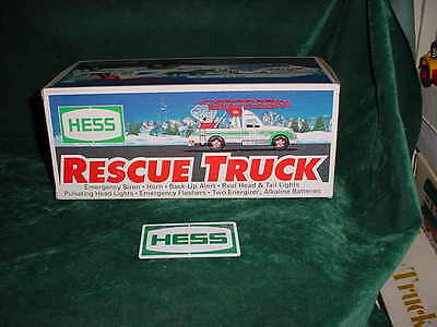 1994 Easter  Holiday Birthday Hess  Gift Trucks Toy Rescue Tow Truck Xmas