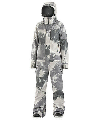 2017 NWOT WOMENS AIRBLASTER FREEDOM SNOWBOARD SUIT $350 M storm cloud