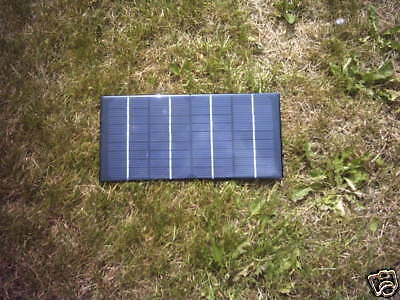 12V 4 Watt Resin Solar Panel Battery Charger For Lakestar Baitboat