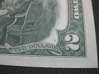 ☆☆STAR☆☆ 1976 $2 UNC - BP # 1  + NEW Currency Toploader