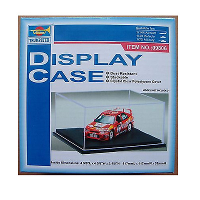 Master Tools Scale Display Case for 1/144, 1/72 and 1/43 scale Vehicles