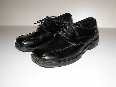 SONOMA Boys Black Dress Shoes size 6 M YOUTH