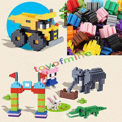 Rich 200 Pcs Plastic Kid Puzzle Educational Building Blocks Bricks Toy LAU