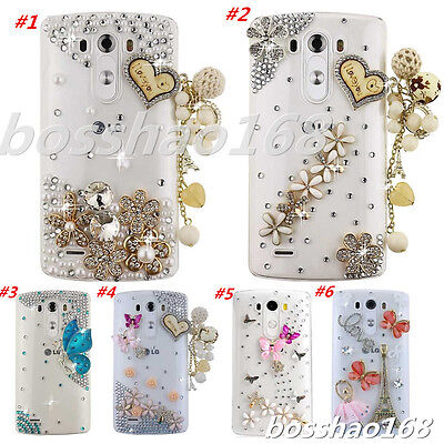 Glitter Luxury Crystal Bling Rhinestone Diamonds Soft Silicone Gel Case Cover #J