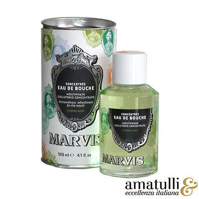 Marvis Mundwasser - Classic Strong Mint - 120ml - Italien