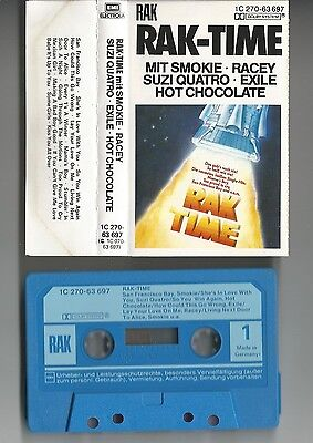 RAK-TIME - Musikkassette/Tape - Smokie/Racey/Suzi Quatro/Hot Chocolate/Exile