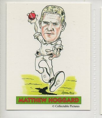 #10 Matthew Hoggard  Cricket Collector Card