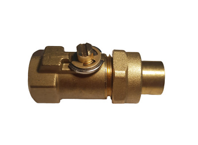 """Gas Cock for AGA Cookers A1219 1/4"""" BSP gas Tap"""