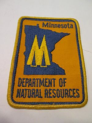 Minnesota Department of Natural Resources - DNR - Vintage Ranger Patch 1970's