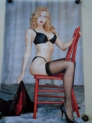 """Traci Lords - Orig. Poster #3343 / Chair / New cond.- Size 22 1/4 X 34 1/2"""""""