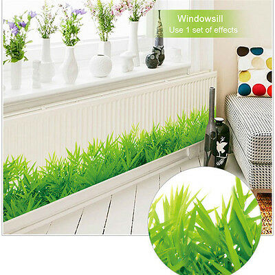 Green Bamboo Plants Wall Decals Vinyl Art Sticker Removable Home Room Decor DIY