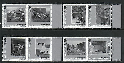 Isle of Man 2009 Historic Photographs--Attractive Art Topical (1303-06) MNH