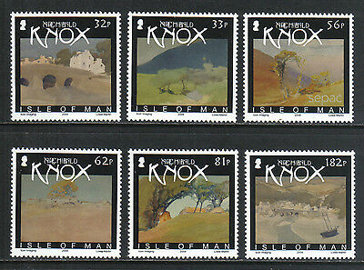 Isle of Man 2009 Archibald Knox Paintings--Attractive Art Topical (1334-39) MNH