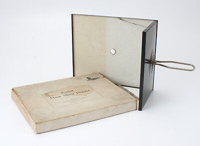 KODAK FLASH SHEET HOLDER, WITH WORN/STAINED BOX/cks/192415