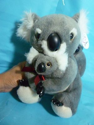 Australian Souvenir Koala Plush--About 10 Inches Tall--New With Factory Tag