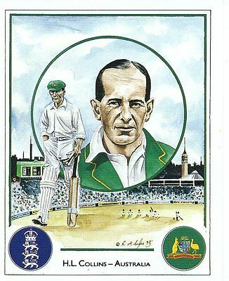 #11 H L Collins - Australia Captain Cricket Card