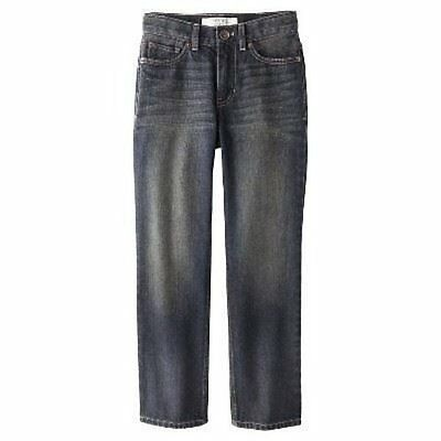 NWT Cherokee Boy's Adjustable Waistband Jeans, Size 7
