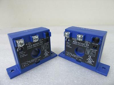 NEW *Lot of 2* NK Technologies AS3-N0DC-FF AC Adjustable Current Switch