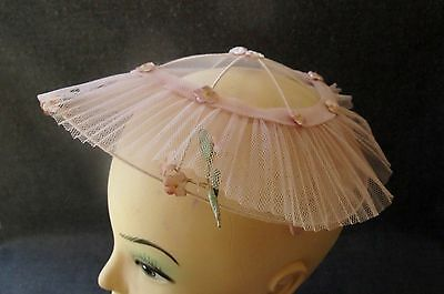 Vintage Velvet Flowers Rose Tulle Bridal Marriage Women Hat Fascinator