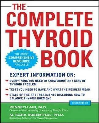NEW The Complete Thyroid Book By Kenneth Ain Paperback Free Shipping