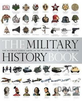 NEW The Military History Book By DK Hardcover Free Shipping