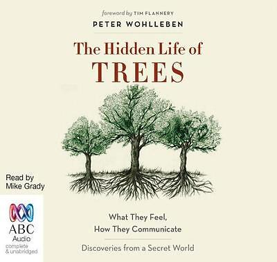 NEW The Hidden Life of Trees By Mike Grady Audio CD Free Shipping