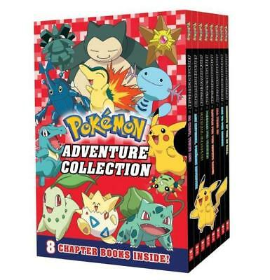 NEW Pokemon Adventure Collection 8-Book Box Set Paperback Free Shipping