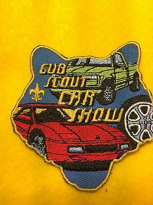 Boy Scouts-  Cub Scout Car Show activity patch