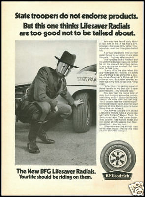 1970 vintage ad for BF Goodrich Tires