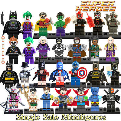 MINI FIGURINES Super Heroes - Deadpool, Batman, Joker.....