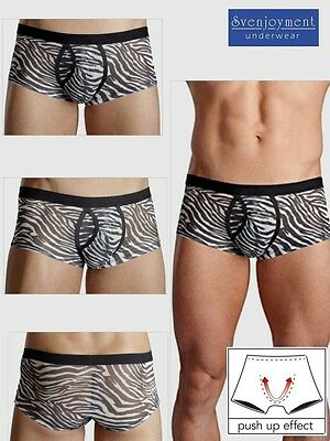 Svenjoyment Push-Up Swell Hipster Pants ANIMAL Elastisch Transparent SEXY in L