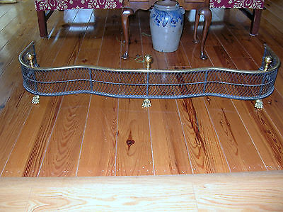 #2 Williamsburg Virginia Metalcrafters Woven 5160  Fireplace Fender Firefender
