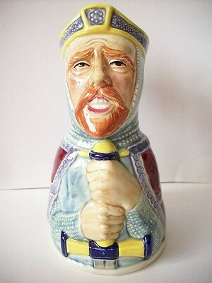 King Arthur Royal Cornwall decorative Toby Bell Collection 1983