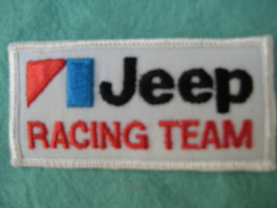 "Jeep Racing Team Patch 3 5/8"" X 1 3/4"""