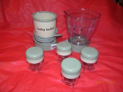 Magic Baby Bullet Homemade Food  Blender System Baby Food Maker