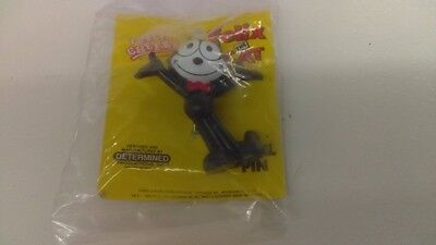 """Felix The Cat Lapel Pin 2"""" Character Pin New In Package L@@K"""