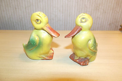 Vintage German Duck Shakers Great For Easter Marked Germany