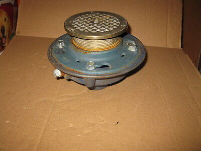 New Old Stock Zurn Commercial Floor Drain  Large 55837