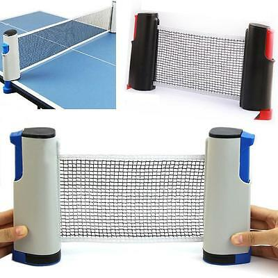 IndoorSport Portable Retractable Table Tennis Net Rack Replacement Ping Pong Kit