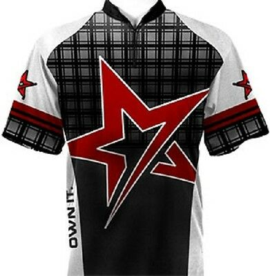 Roto Grip Red Star Dye-Sublimated Bowling Jersey SIZE XXL