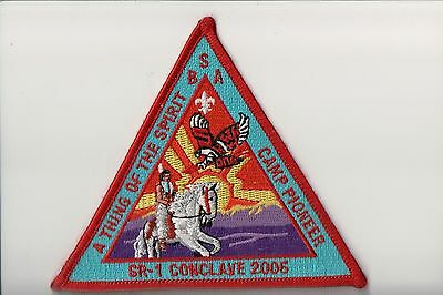 OA 2006 SR-1 Conclave Camp pioneer patch